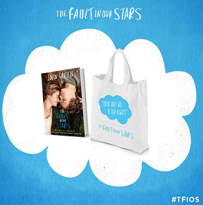 Giveaway: The Fault In Our Stars Book + Totebag