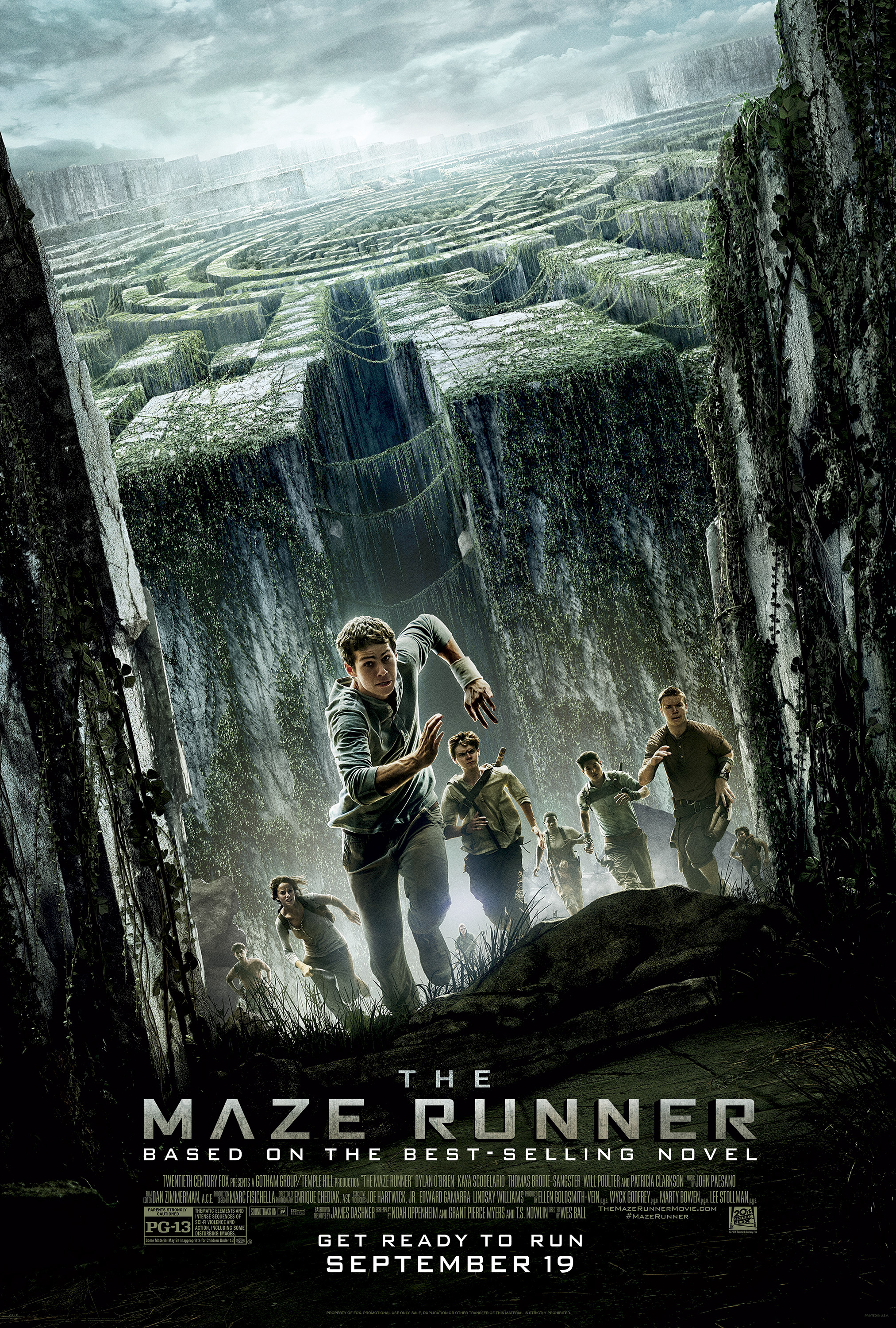 Giveaway: The Maze Runner